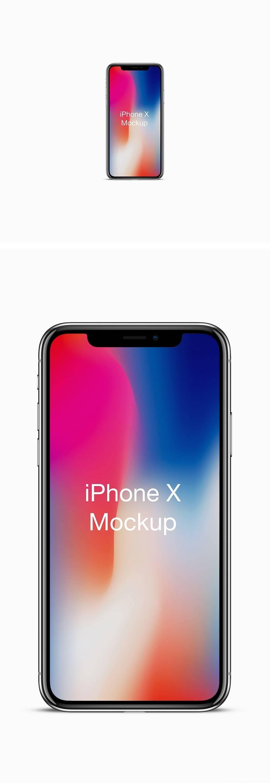 iPhone X Mockup PSD下载