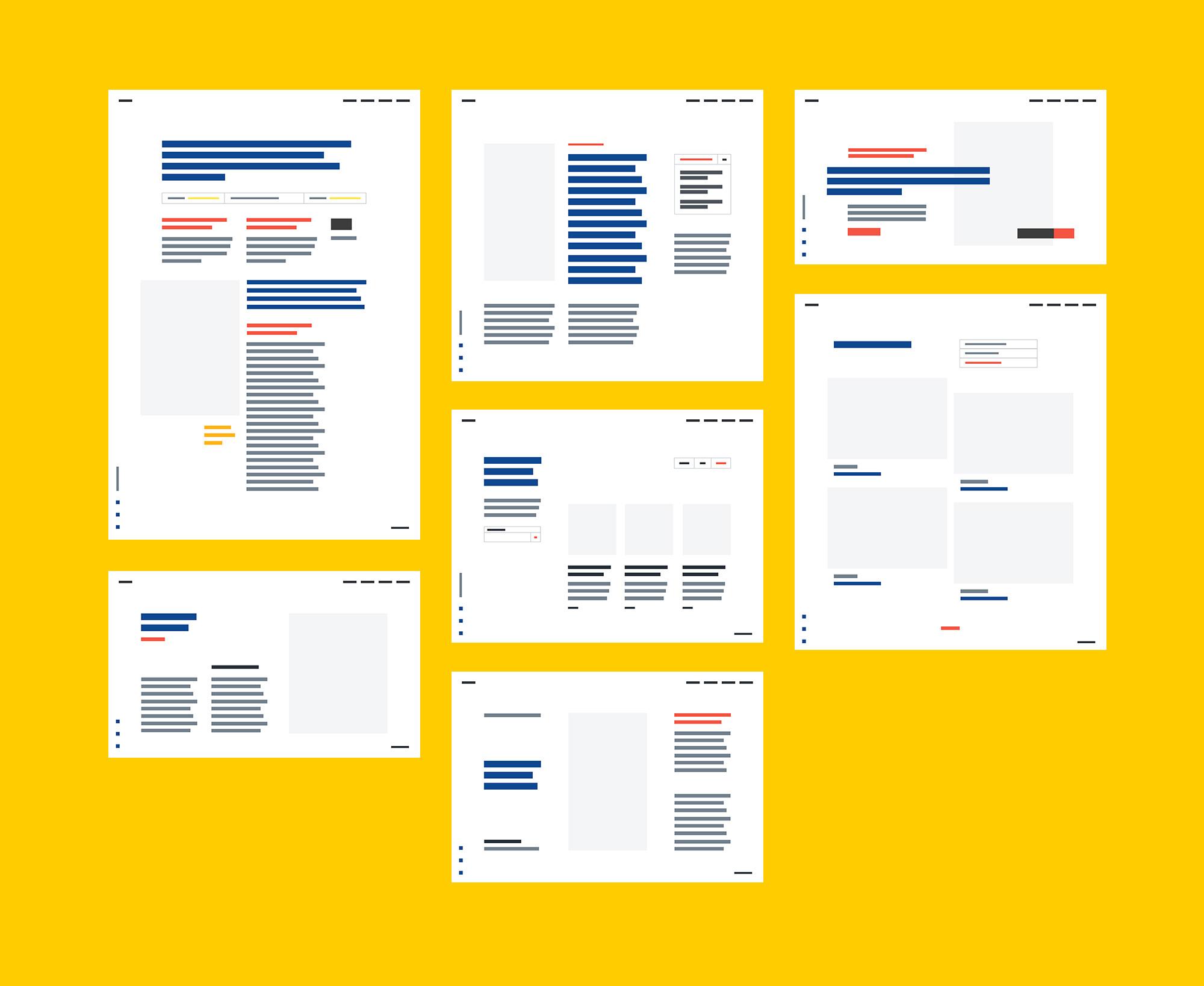 精品个人网站模板psd+sketch源文件