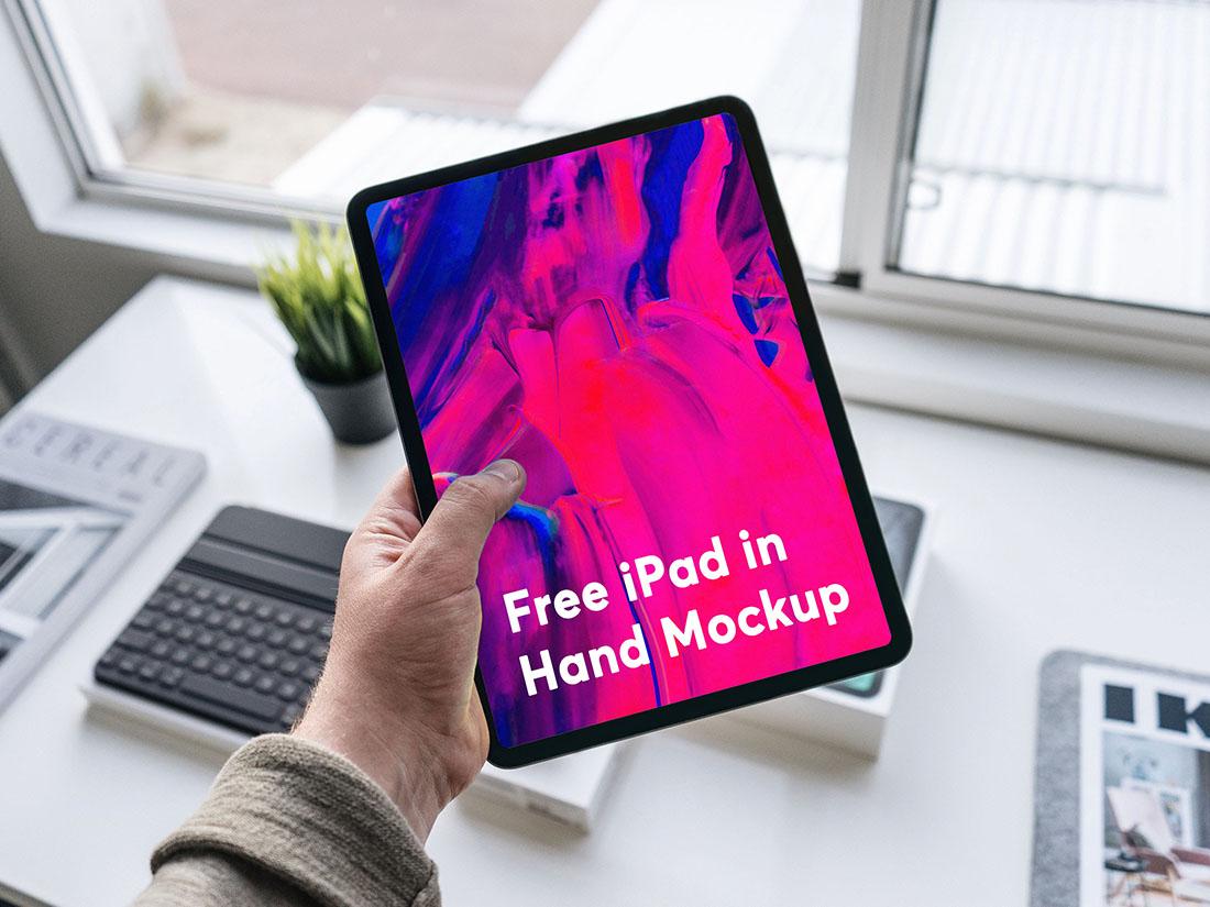 iPad Pro高清展示模板psd下载