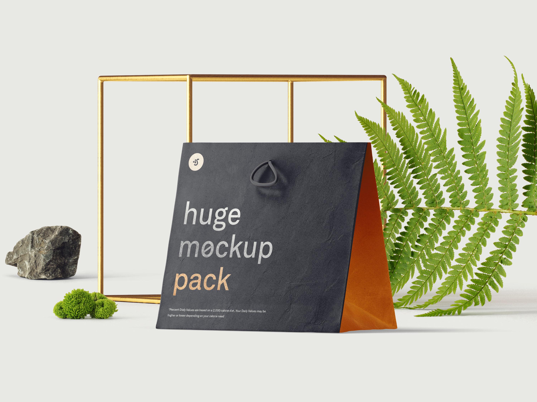 包装袋psd模板,包装模板