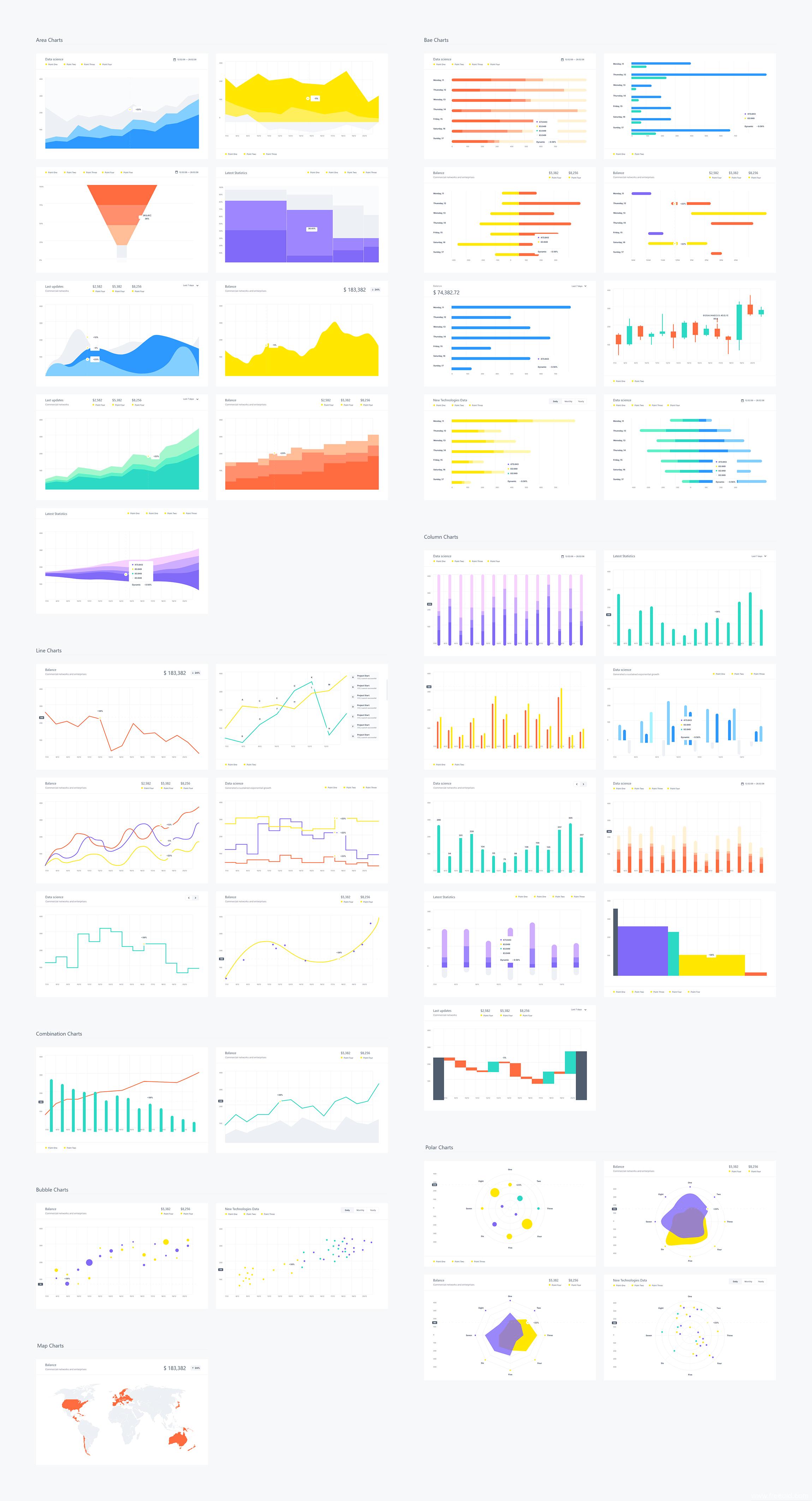 超全数据可视化UI源文件,金融管理类后台UI源文件,黑白双色,sketch源文件