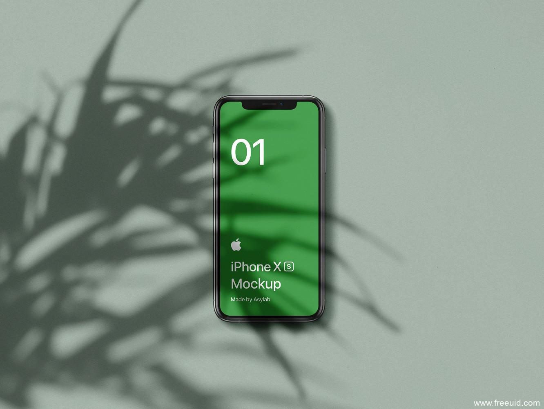 iphone xs样机mockup .psd素材下载,UI资源下载