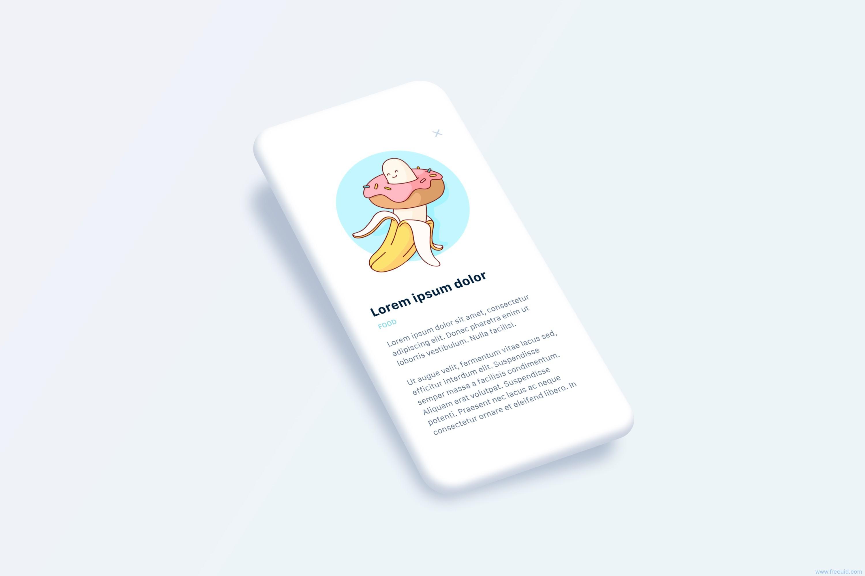 app ui展示模板 phone mockup .sketch素材下载,各种姿势都有,UI素材下载,UI资源下载