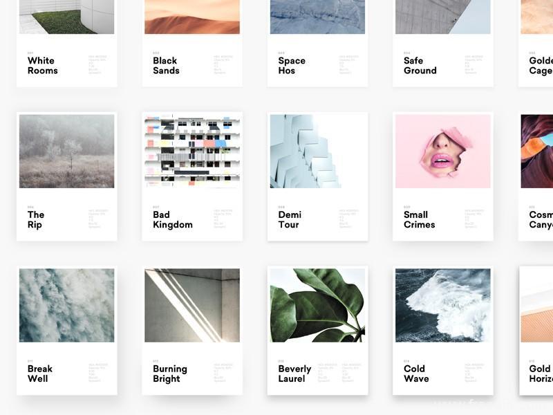 UI设计最火的投影样式模板源文件,UI素材下载,UI资源分享