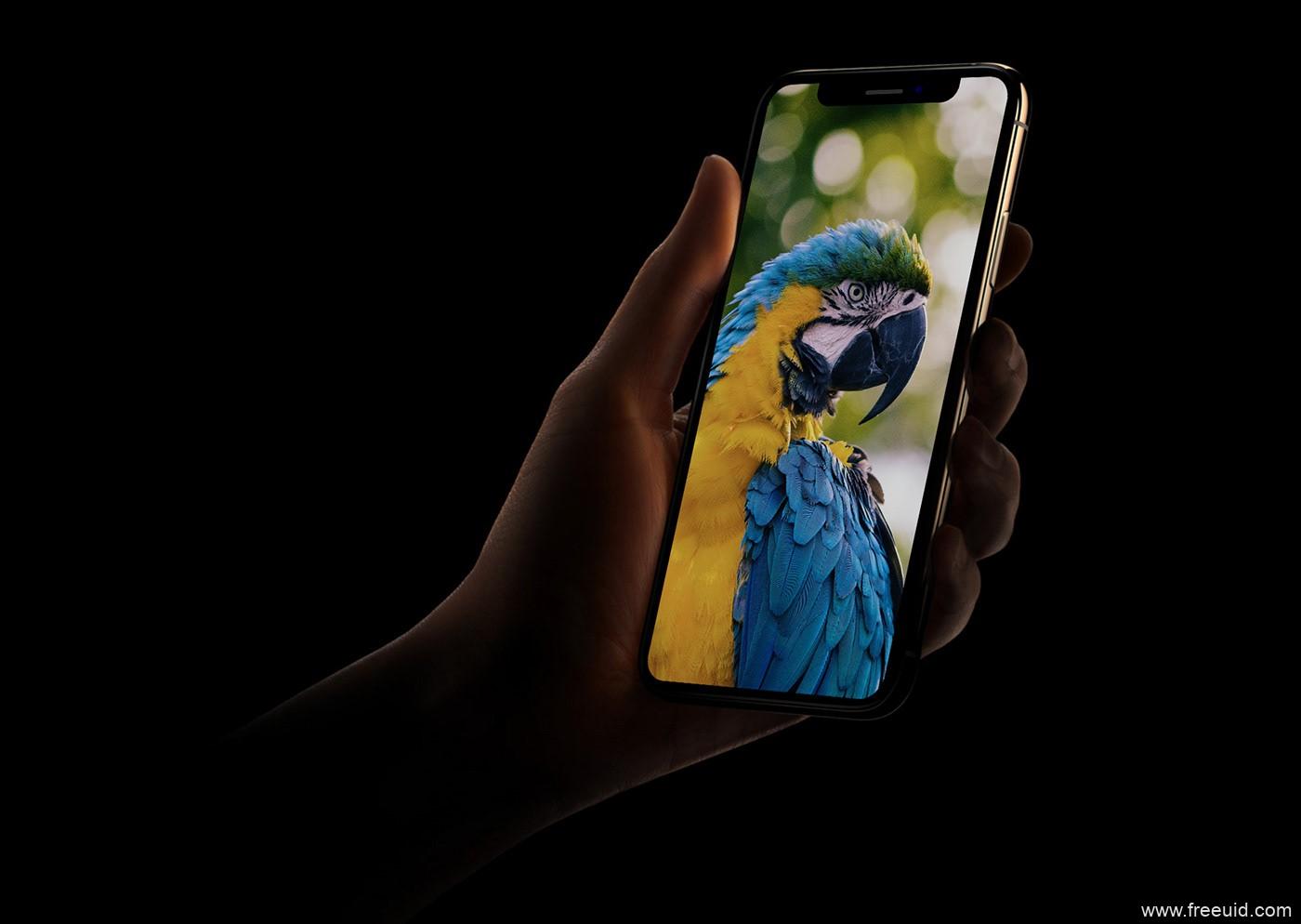精品手持iPhonex 样机展示模板,mockup样机模板psd分享