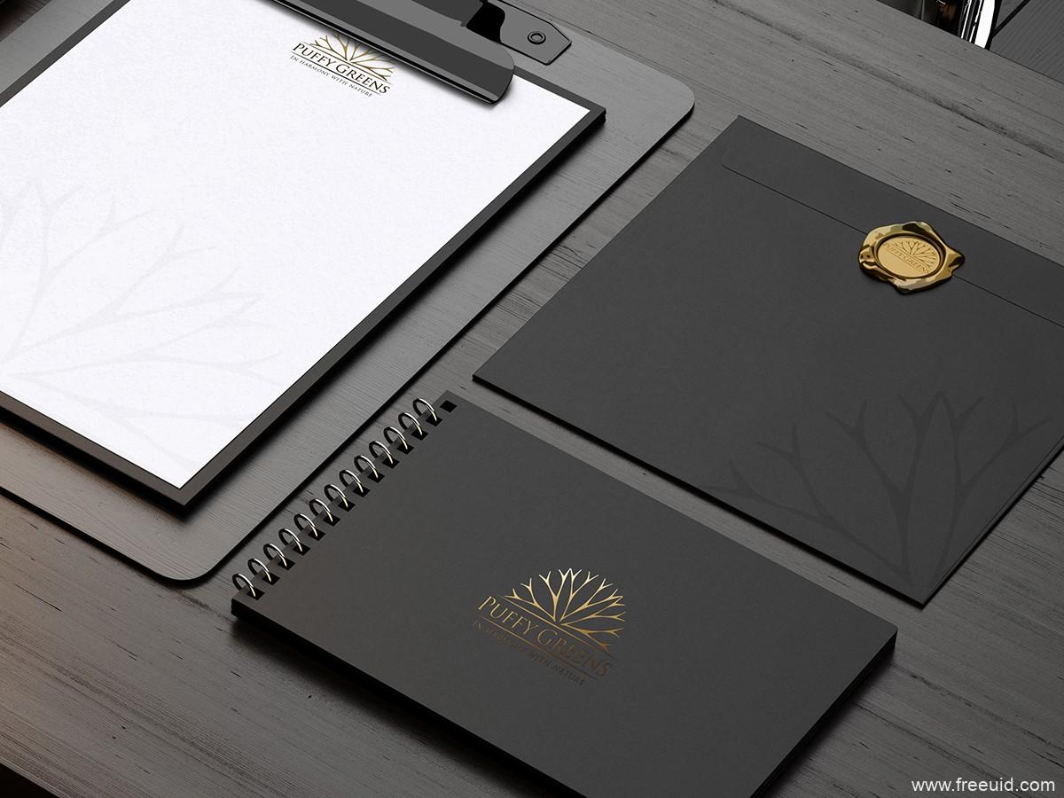 高端品牌包装样机模板,VI mockup,VI 模板