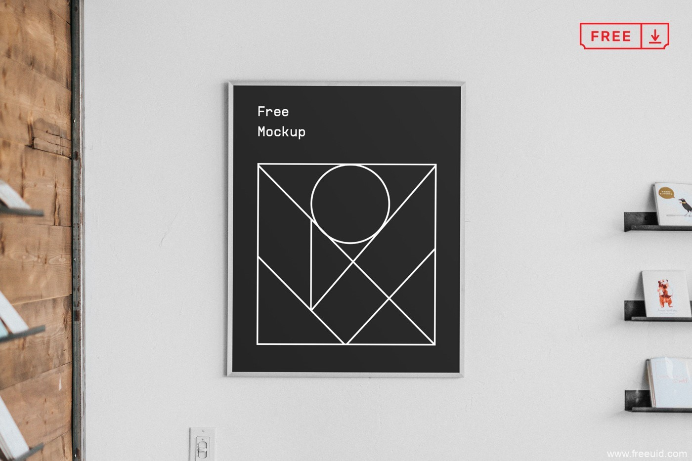 免费海报模板,海报mockup psd源文件