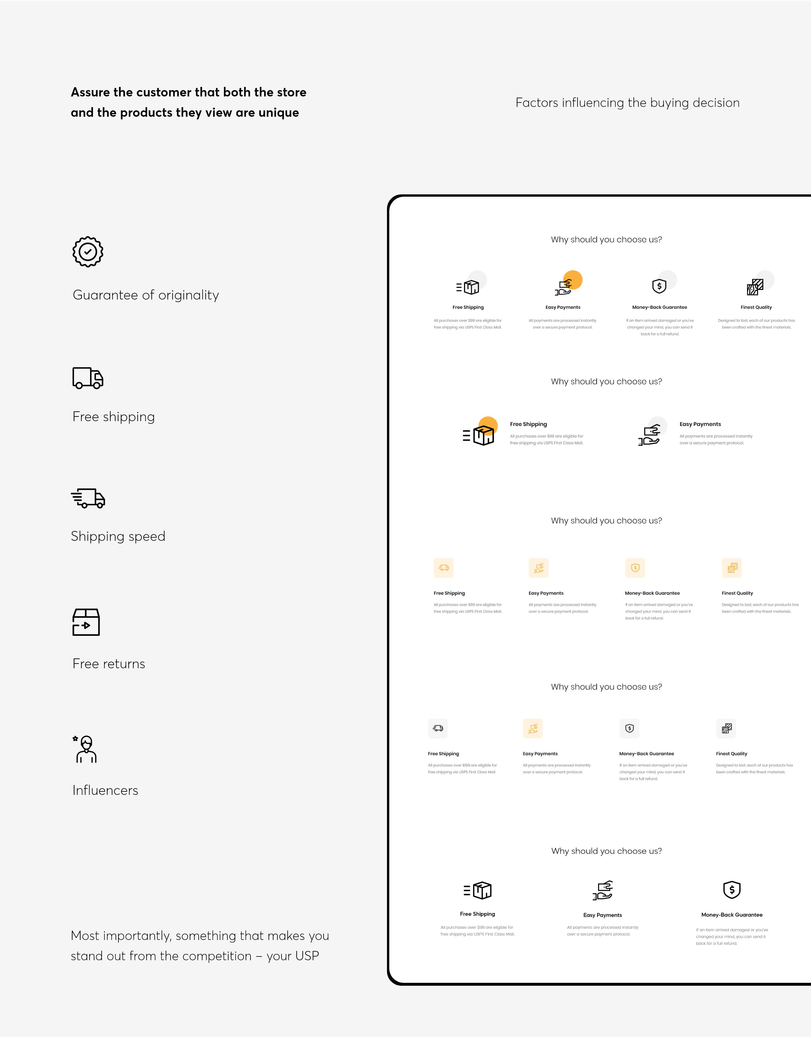 成套简约风电商网站UI模板,UI资源下载,UI源文件下载,XD源文件