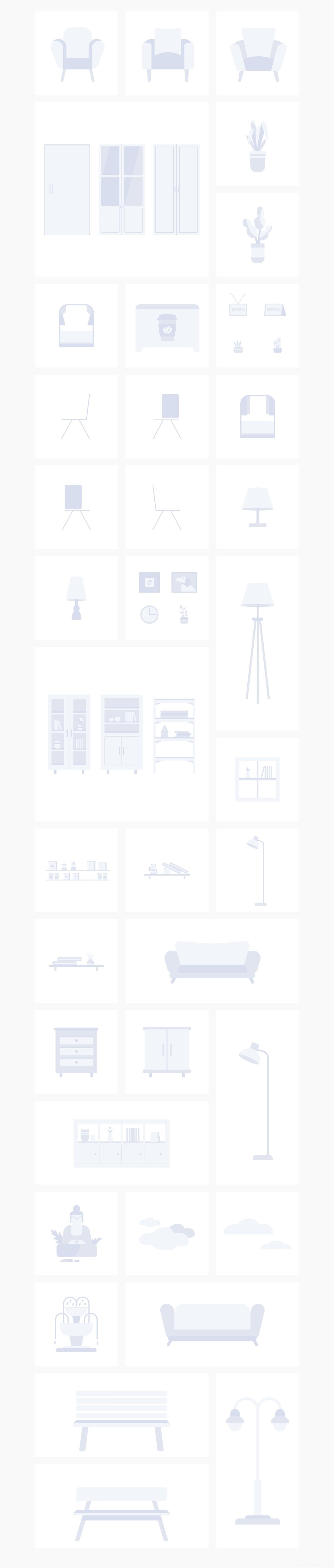 超全运营插画组件化插画模板源文件.fig .sketch .png源文件下载