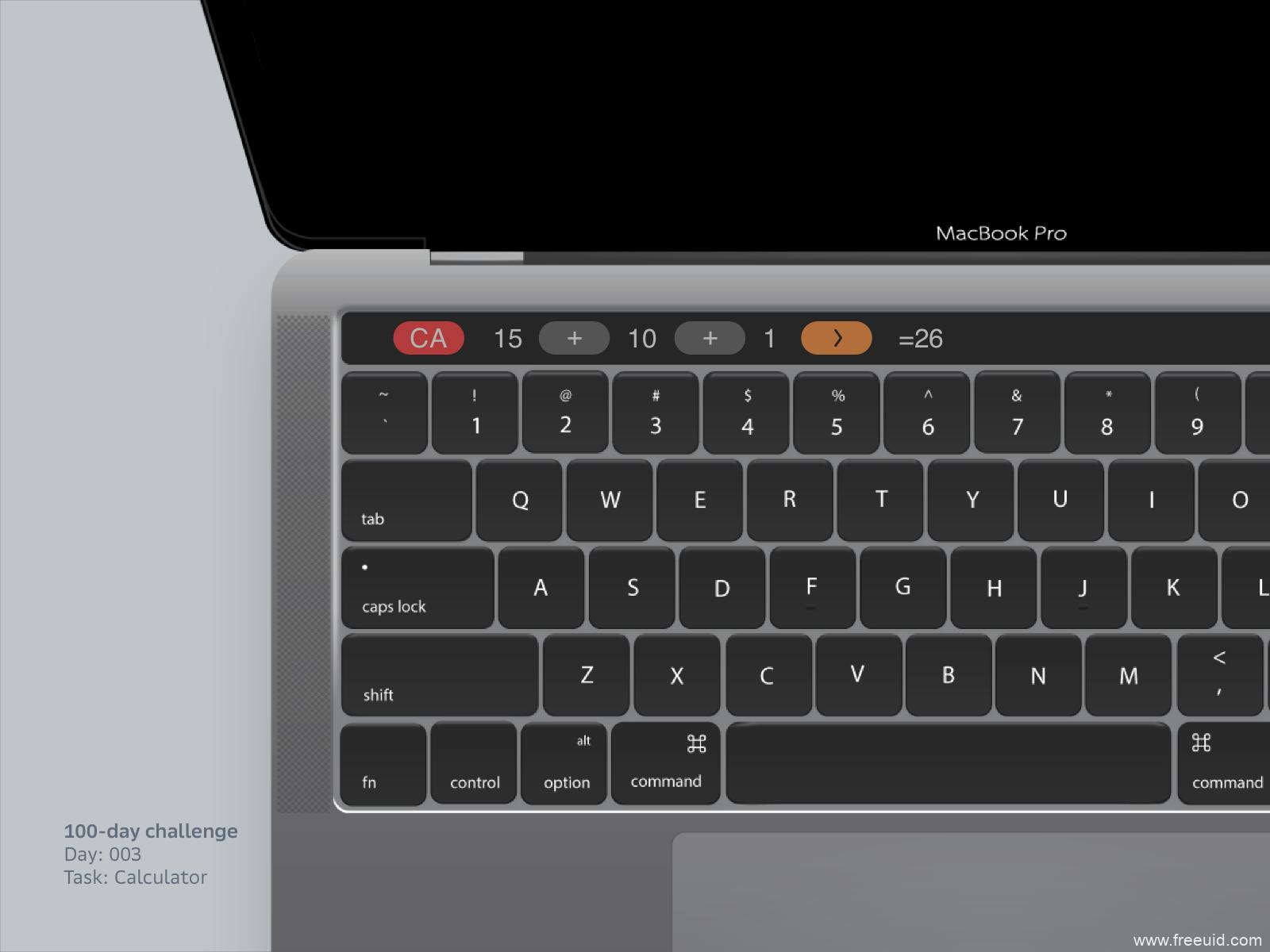 mac电脑样机sketch源文件