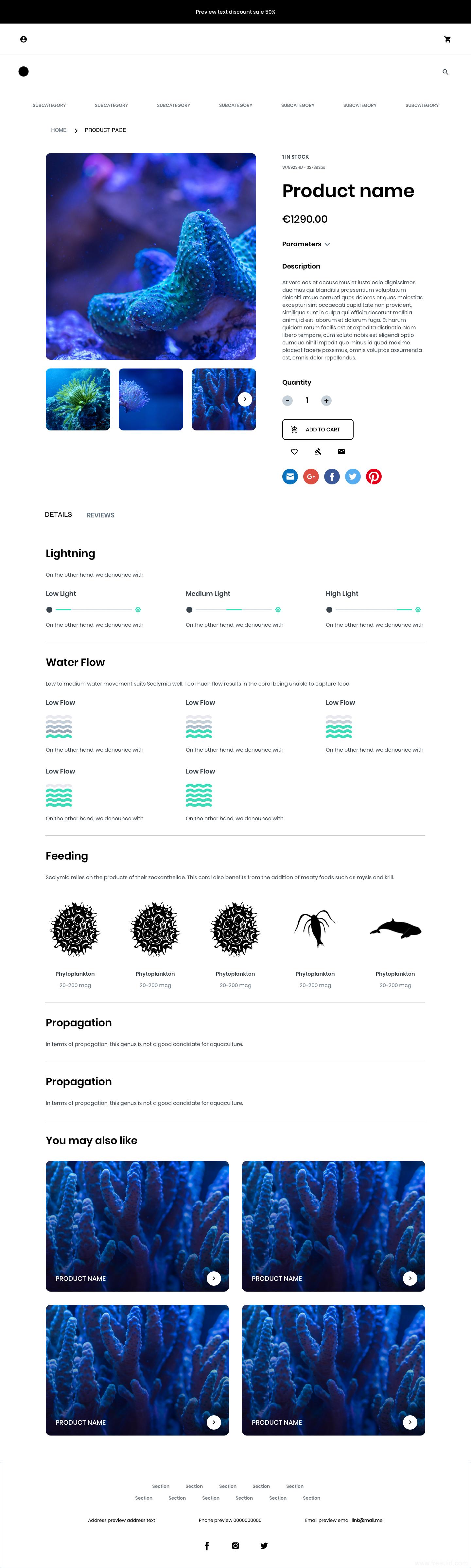 摄影展示UI界面、瀑布流排版界面、sketch源文件下载