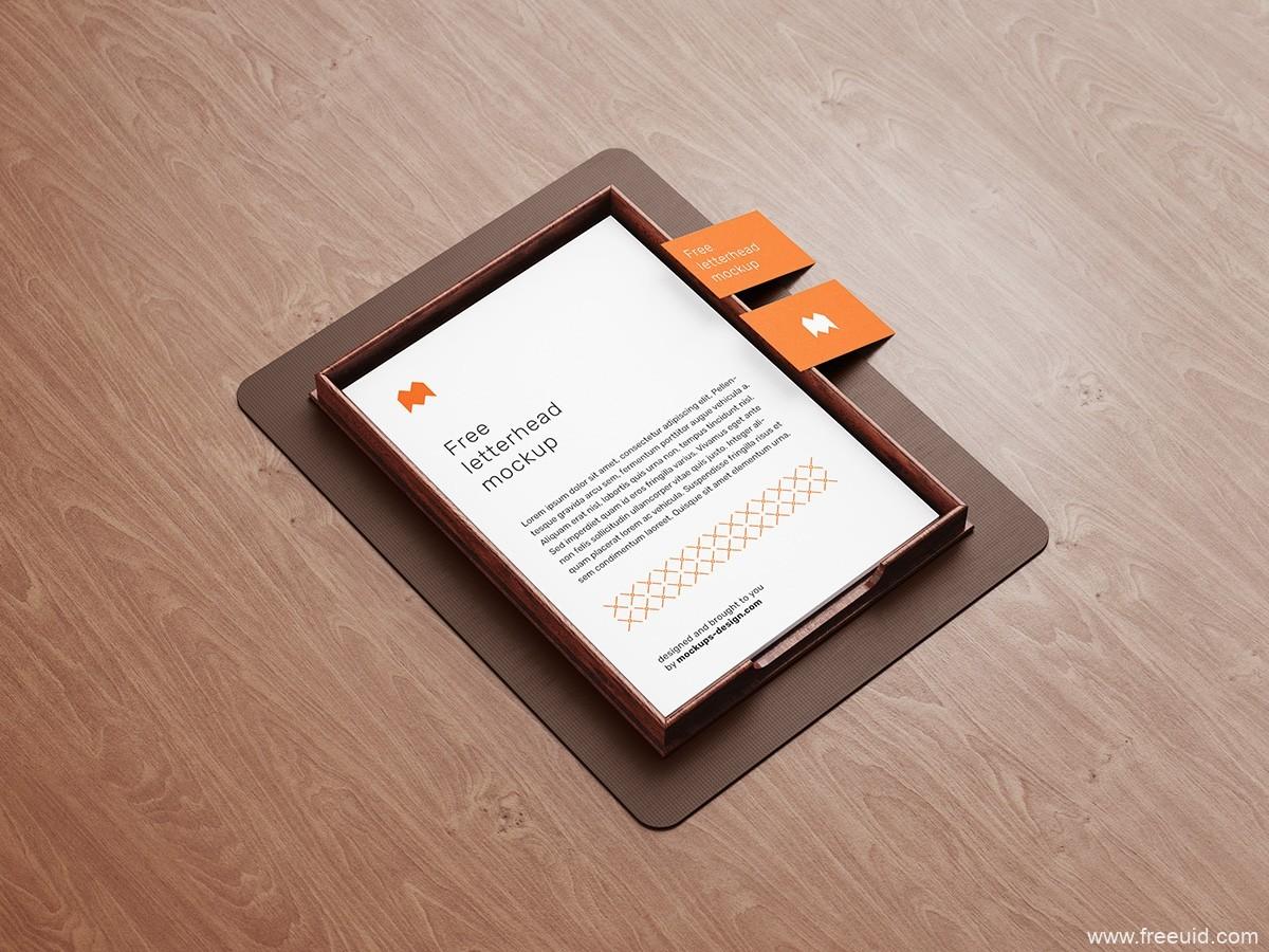 高端办公文件展示模板psd源文件下载