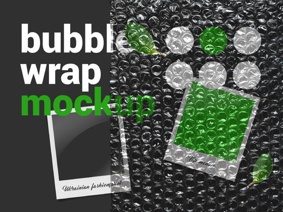 多款泡泡包装模型展示样机psd源文件下载