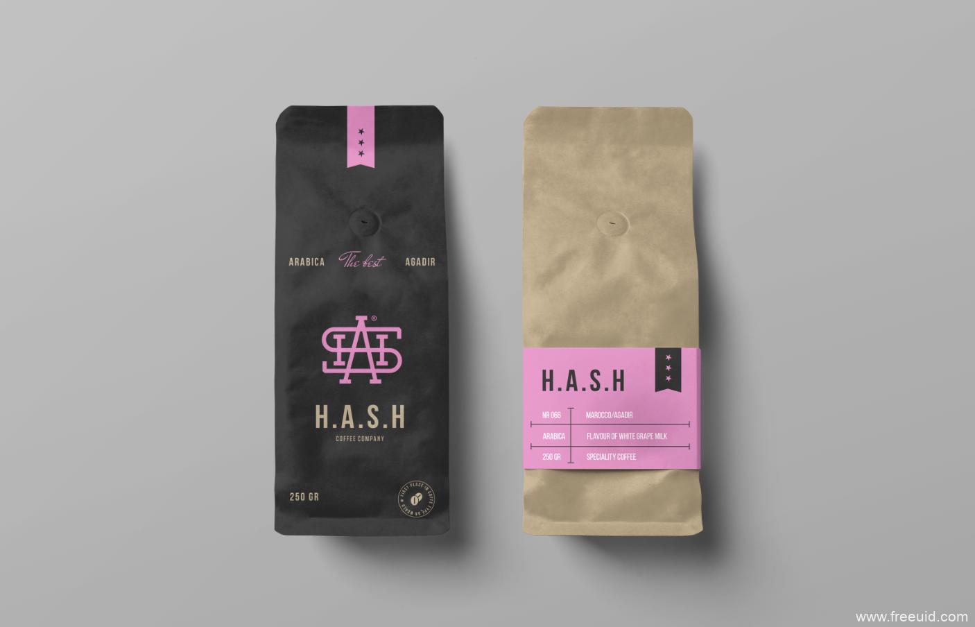 咖啡外包装样机模版psd源文件下载