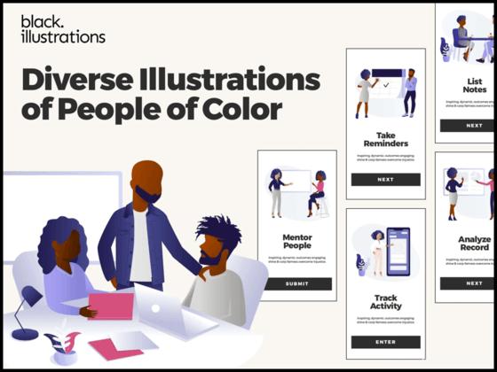 医疗场景人物插画设计psd、sketch、Ai、svg源文件下载