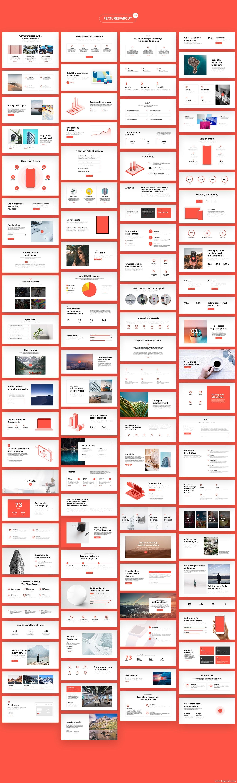 推荐280个高端网页设计模板UI Kit,个人网站,商业网站,作品展示网站UI模板