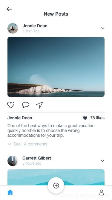 旅游、摄影应用App基础界面sketch源文件免费下载