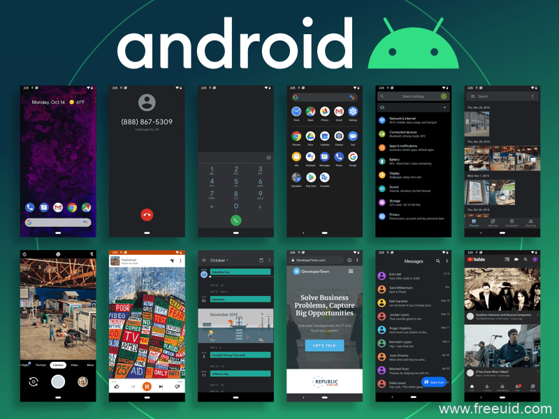 Android-10-ui-kit-developertown UIkit下载