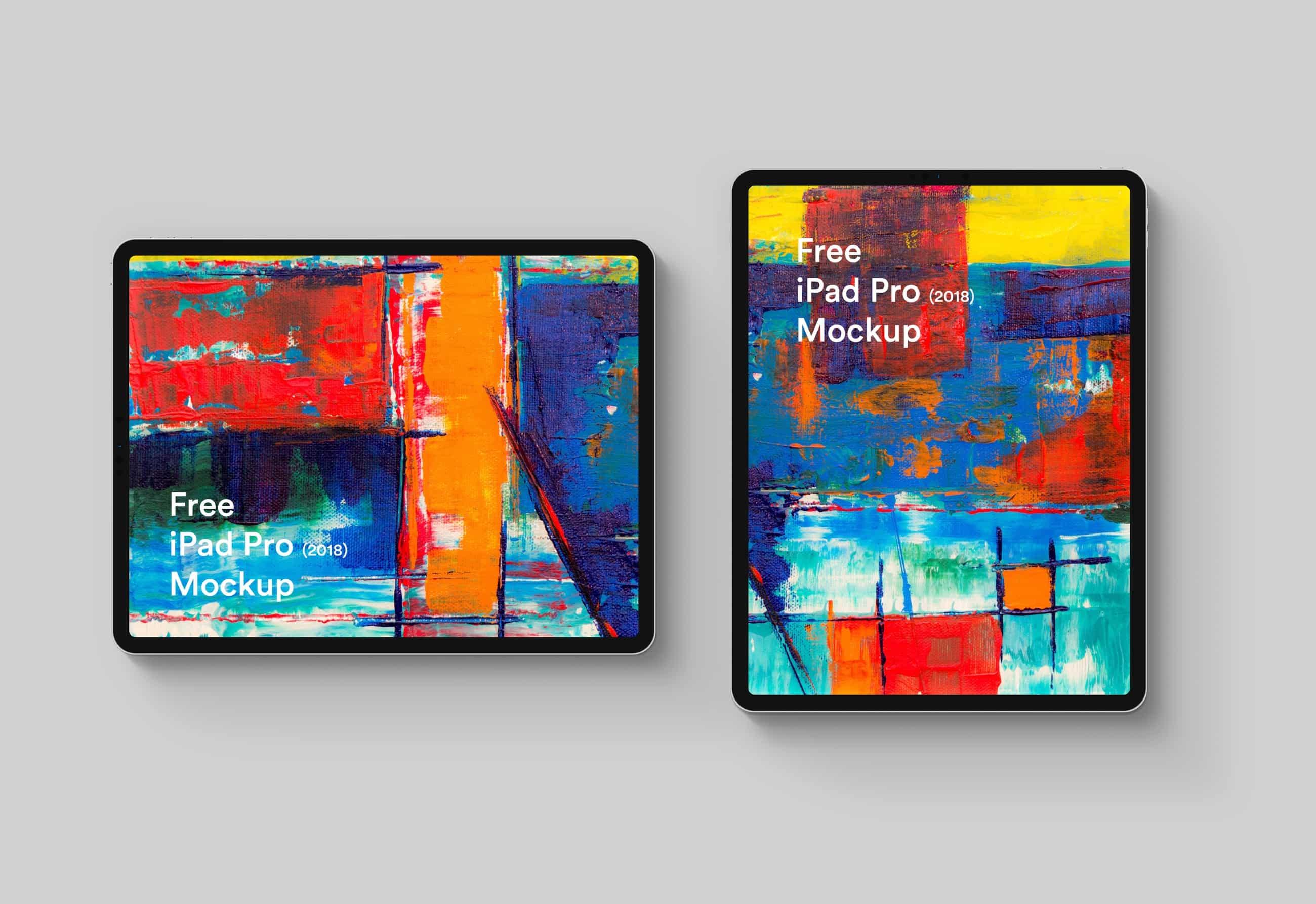 Free iPad Pro 2018 Mockup