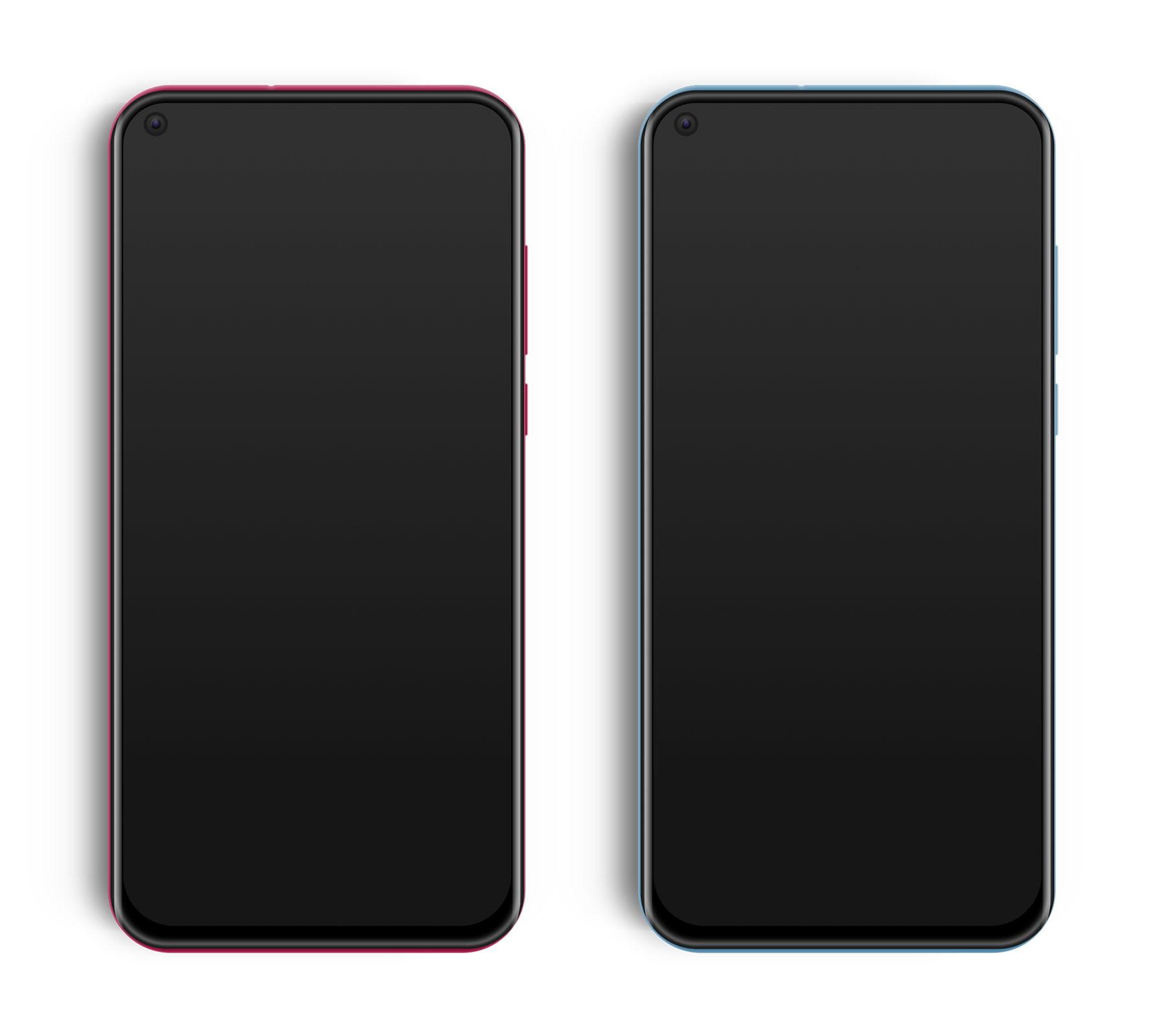 华为 nova 4 手机模型,手机UI资源下载,sketch源文件