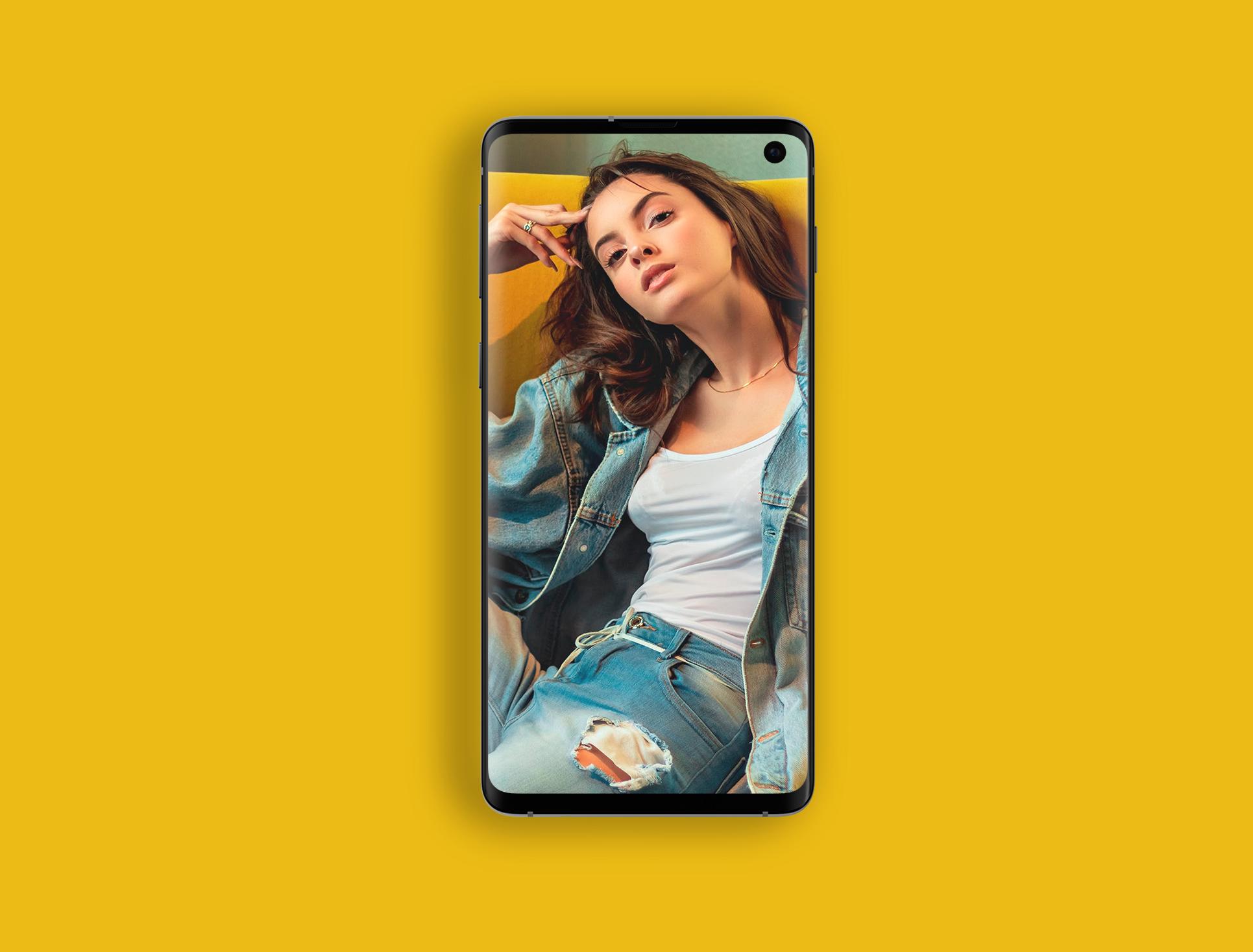 Galaxy-S10手机Mockup