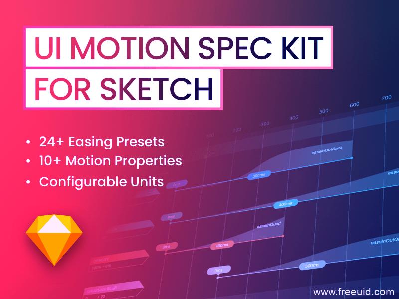 动效落地,动效标注文档,UI 动效交接文档kit,sketch组件