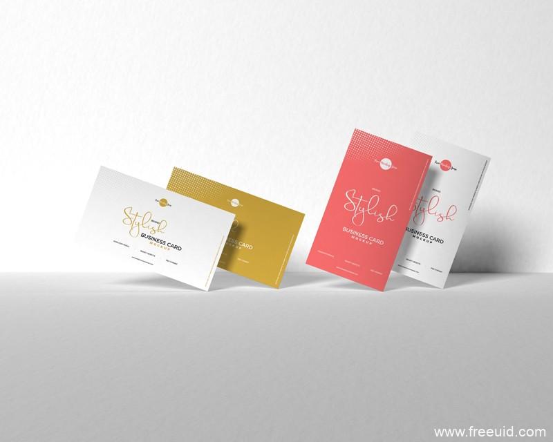 Free-Brand-Stylish-Business-Card-Mockup-600