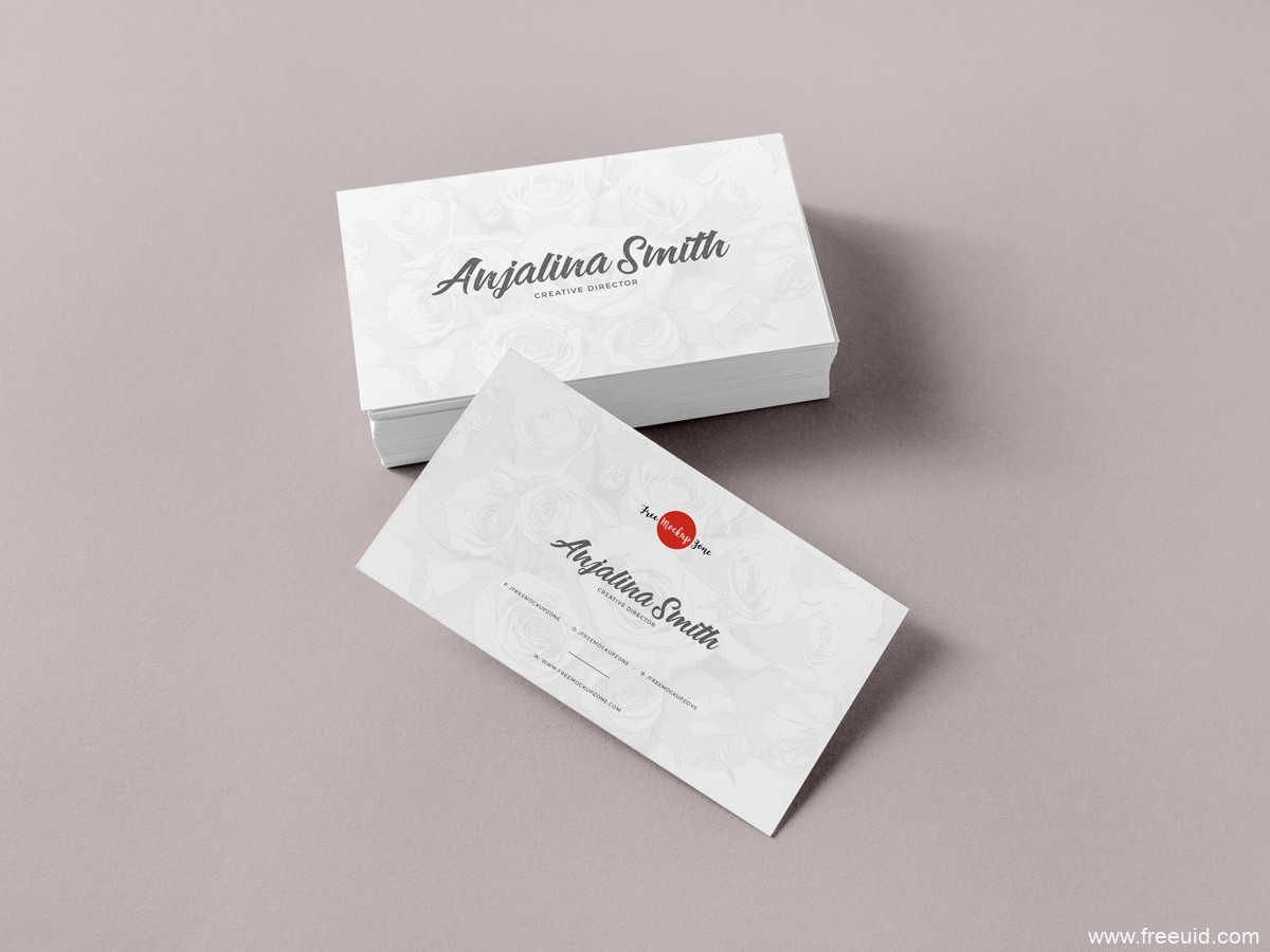 Free-Brand-Business-Cards-Mockup-PSD-For-Presentation