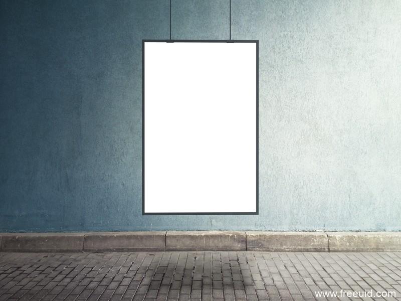 免费商业海报展示模板,psd模板,海报psd模板