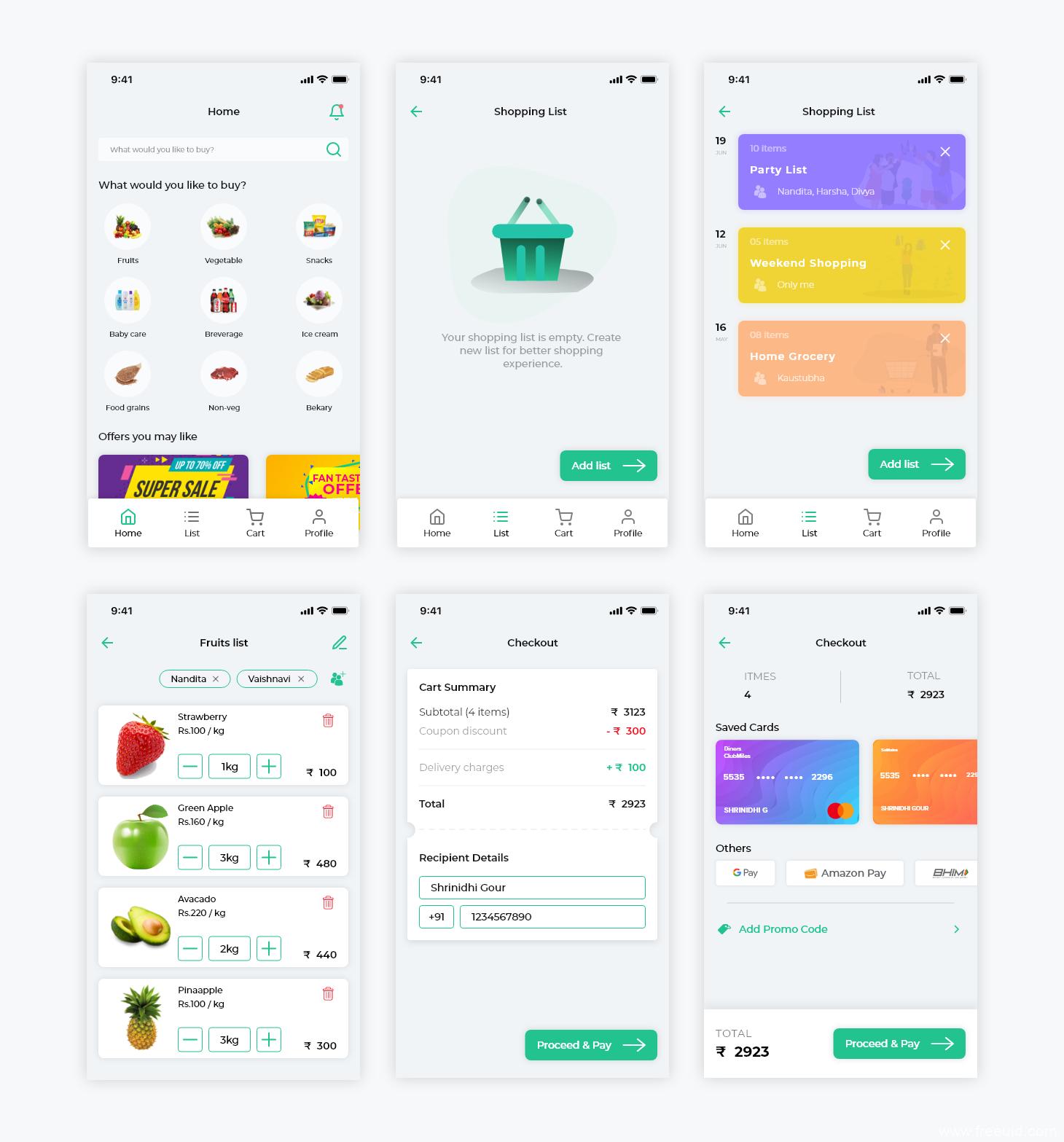生鲜/超市外卖app UI源文件下载