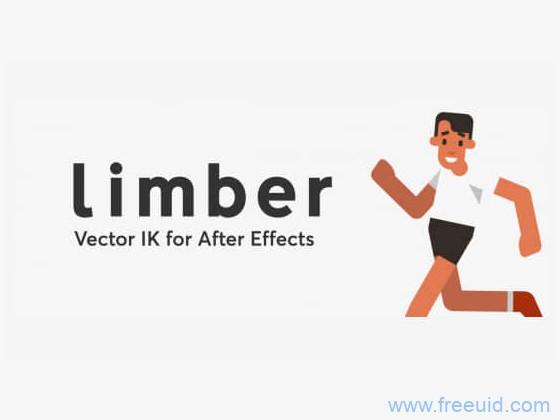Limber V1.5.1 + 使用教程-AE脚本-人物角色骨骼IK绑定动画控制