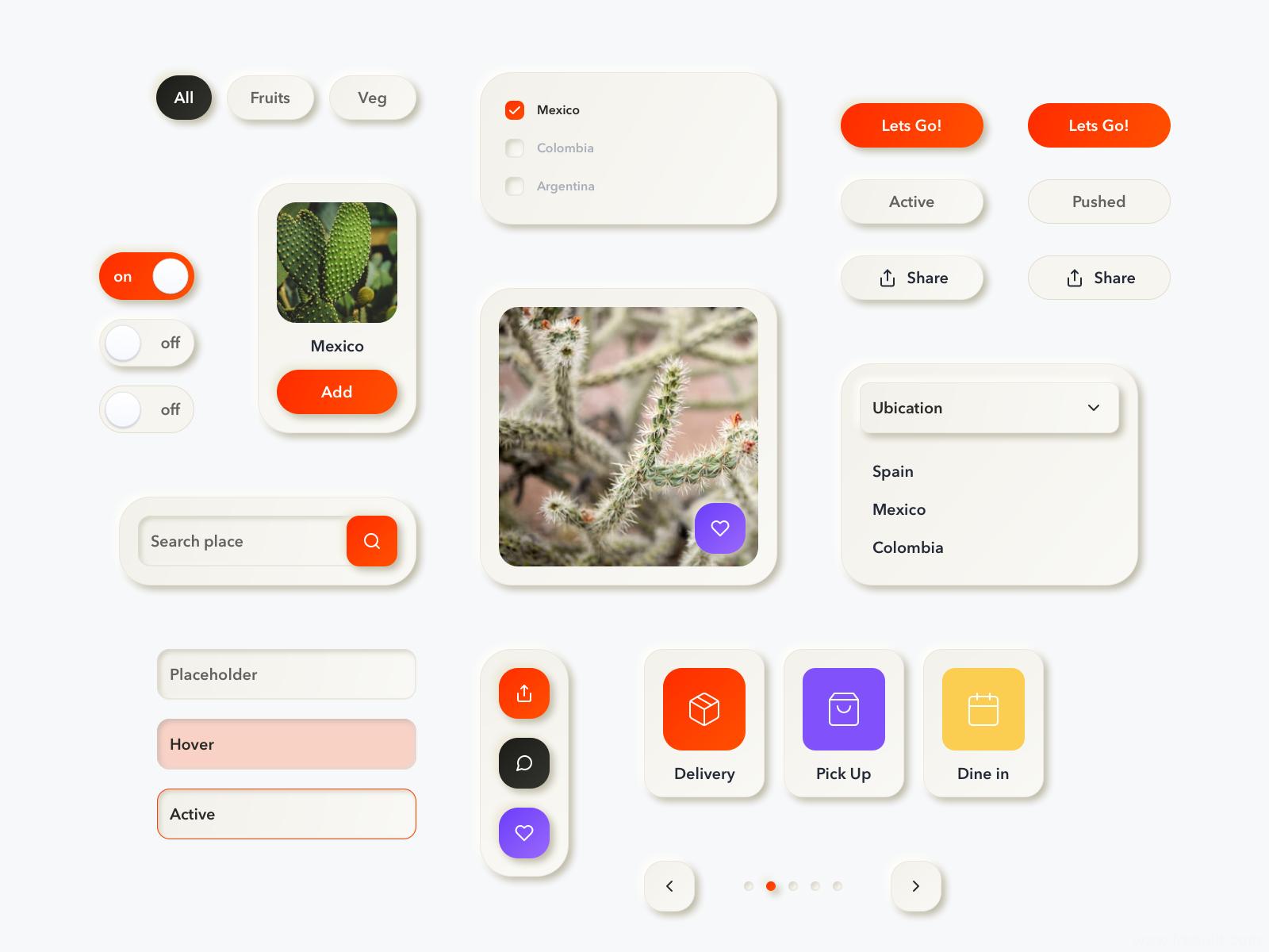 Neumorphic新拟物风格app ui kit .sketch源文件下载,UI源文件下载