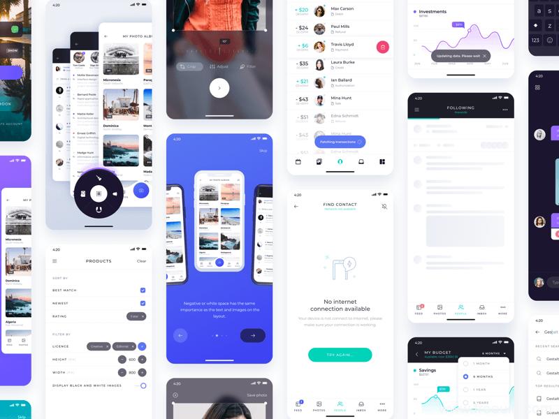 旅行社交UI界面、旅行分享平台app界面sketch源文件下载