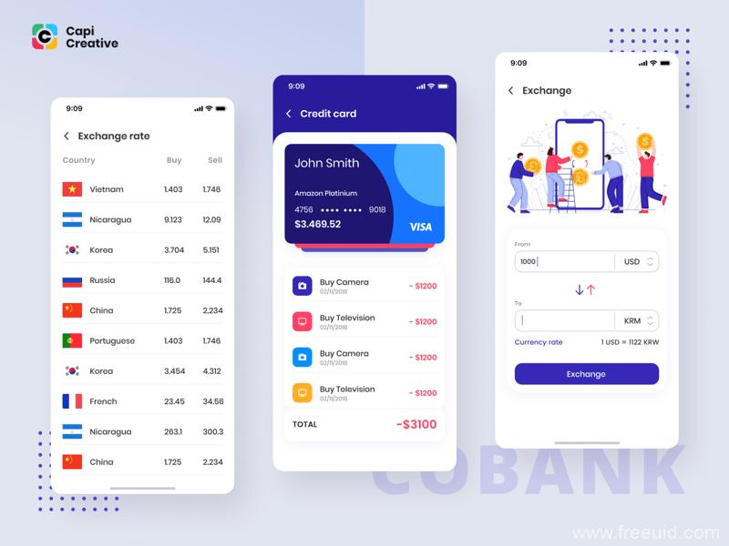 银行应用系统App界面、银行客户管理系统sketch源文件下载