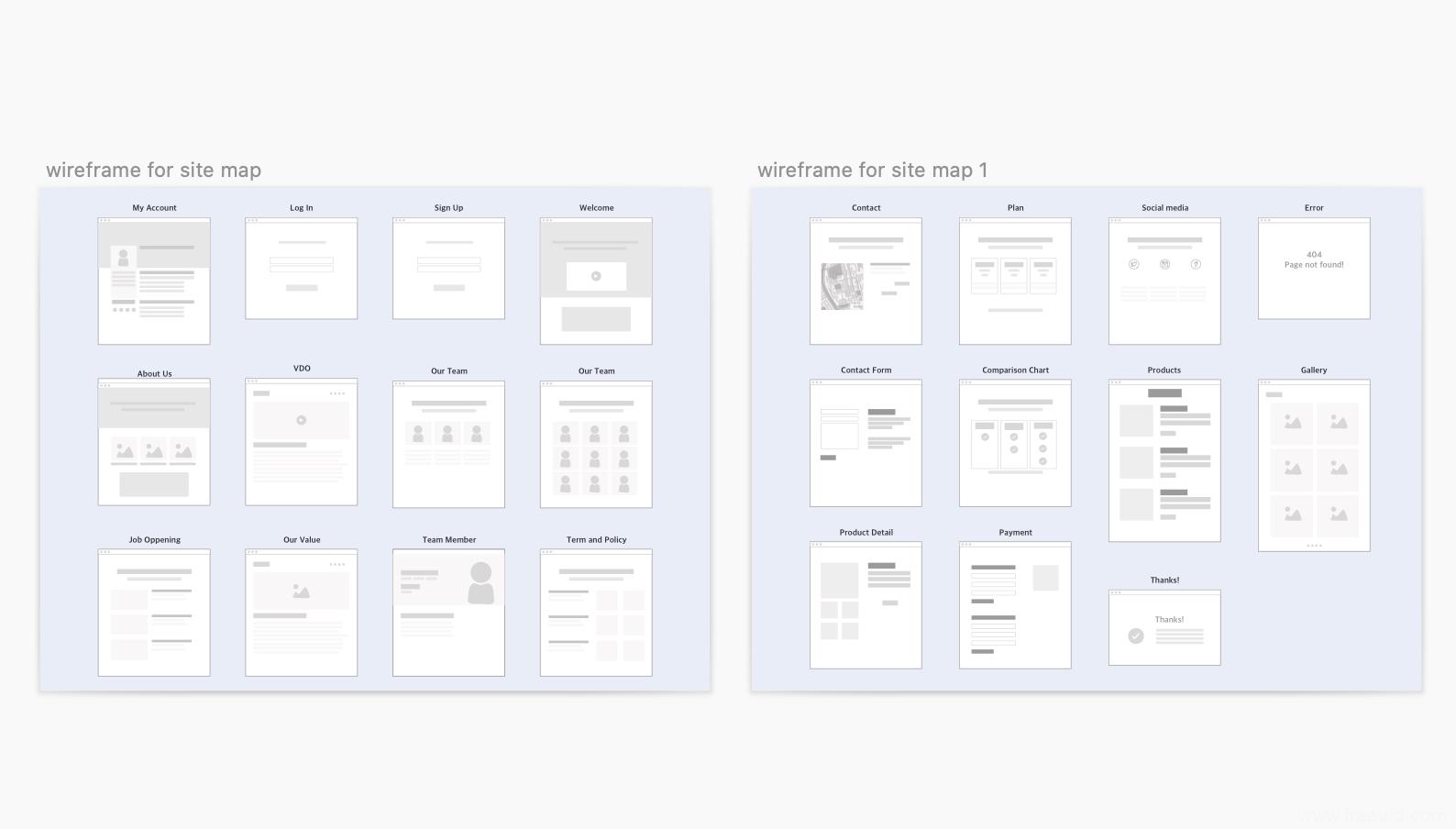站点地图、线框图、sketch源文件下载