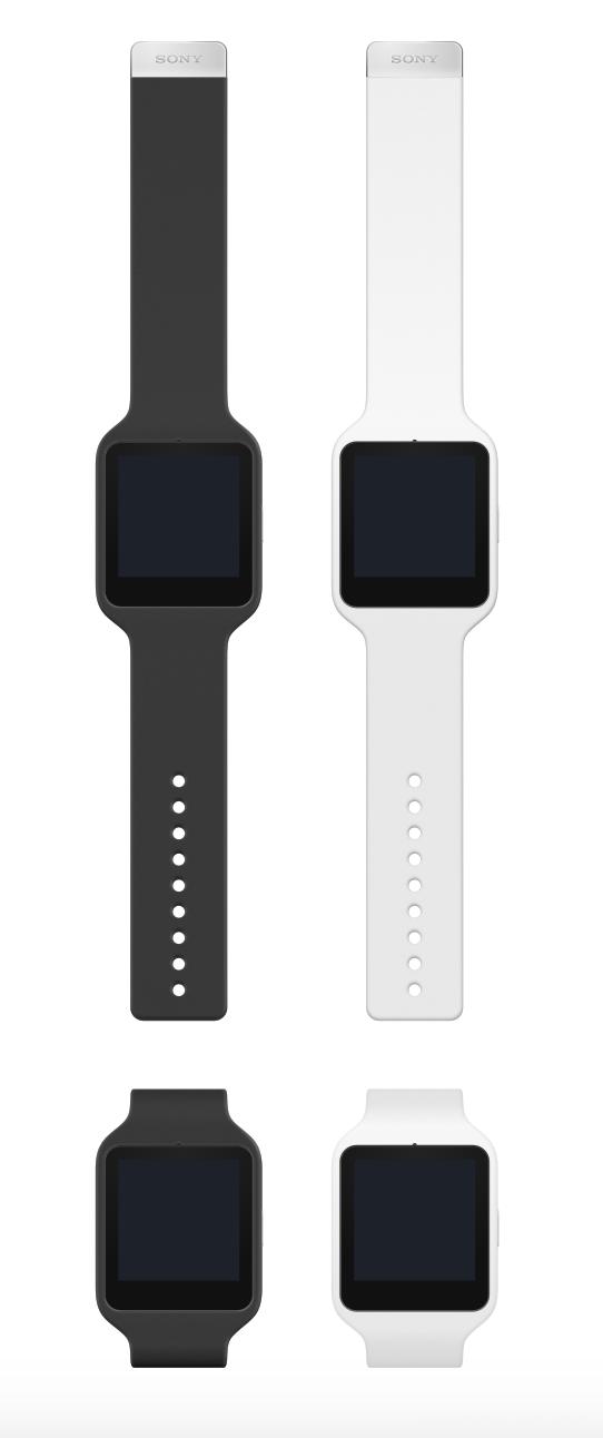 Sony SmartWatch 手表样机模板sketch源文件下载