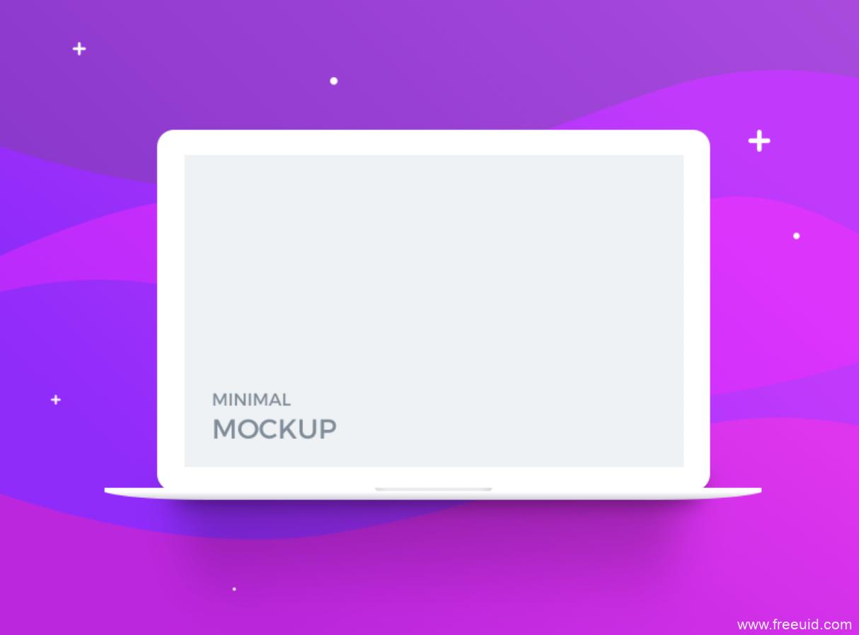 Mac电脑样机展示模板psd源文件下载