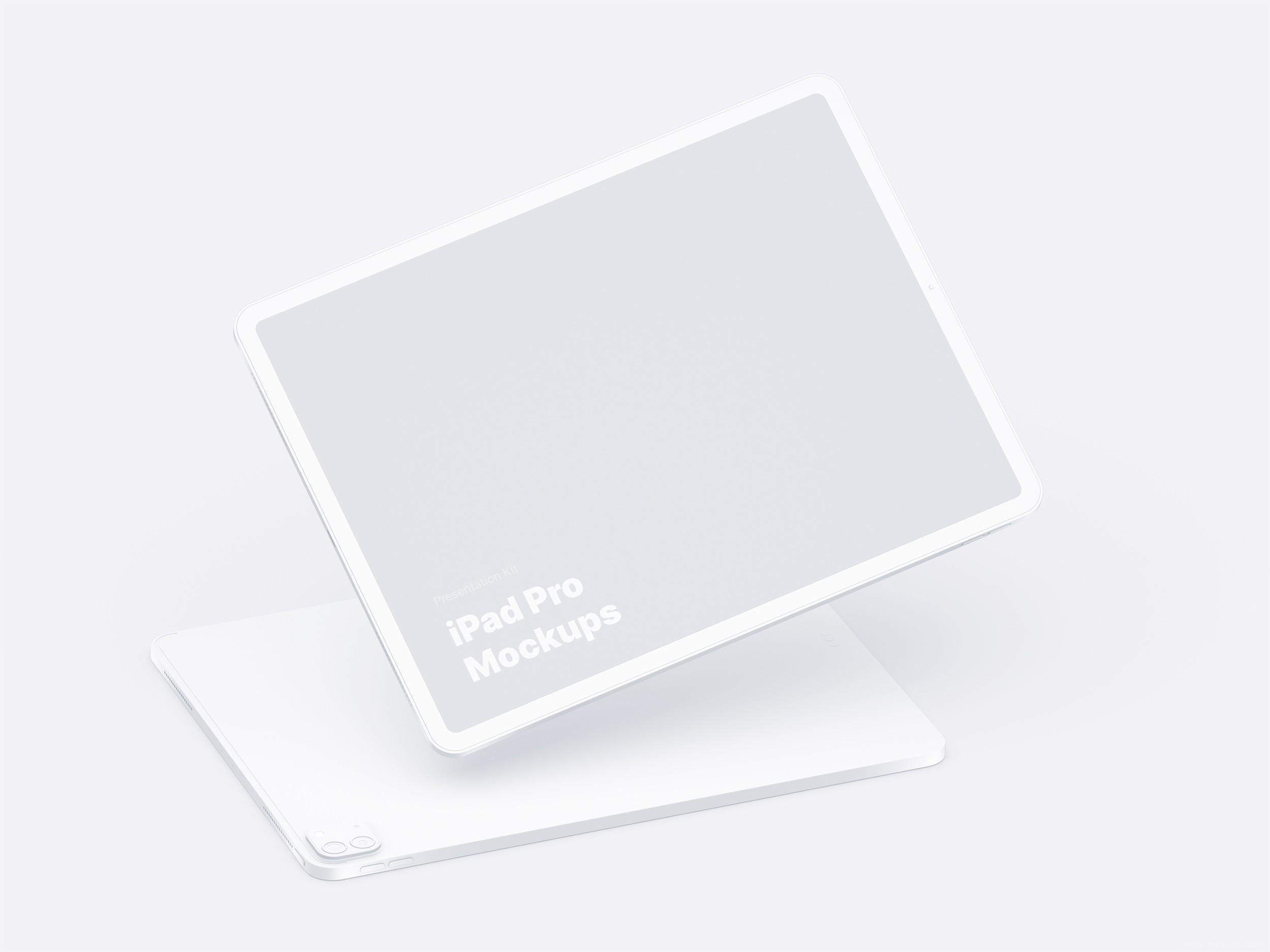 iPad pro 样机模板,iPad pro mockup,fig源文件、sketch源文件、psd源文件