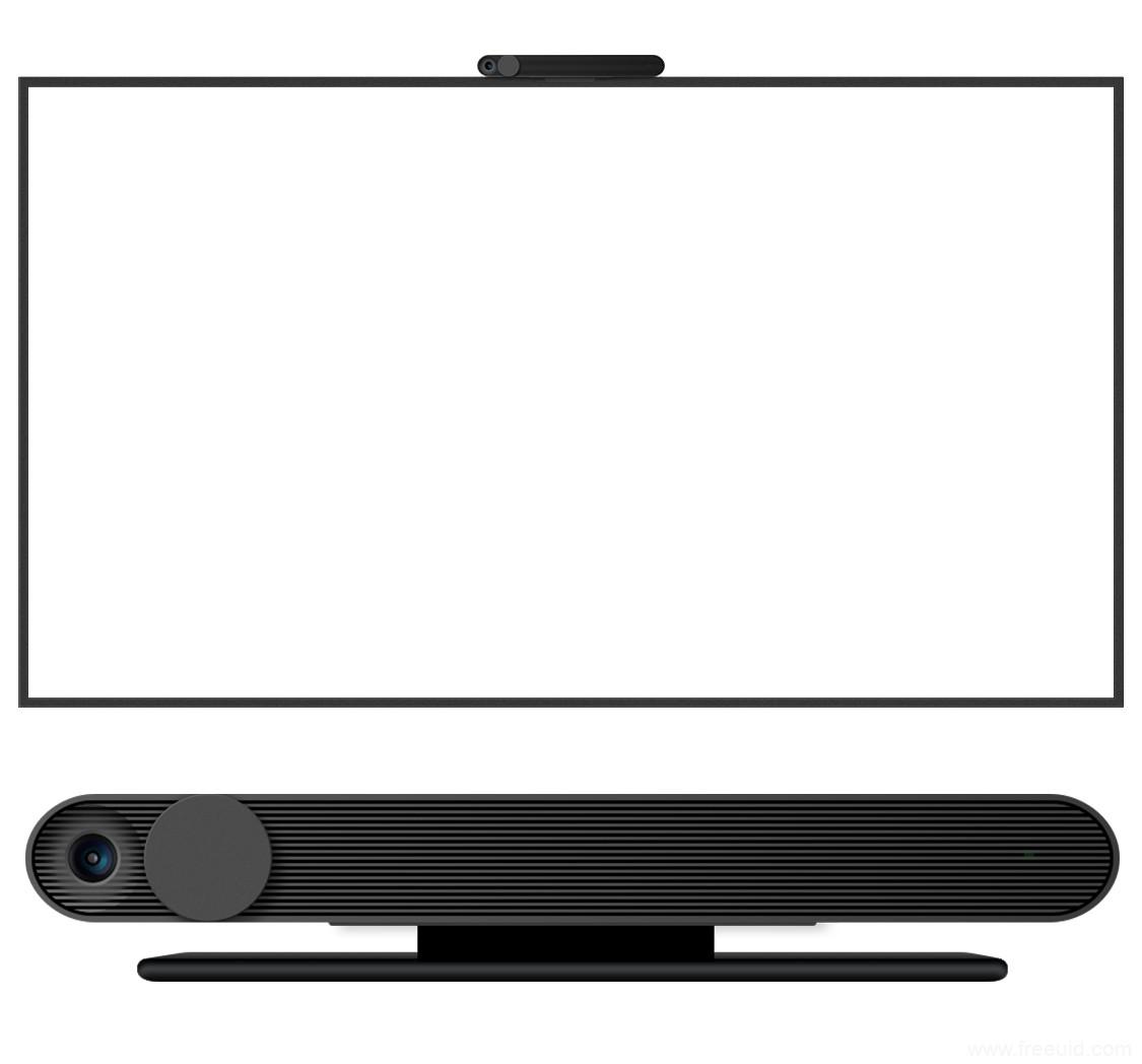 mac TV样机模板sketch源文件下载