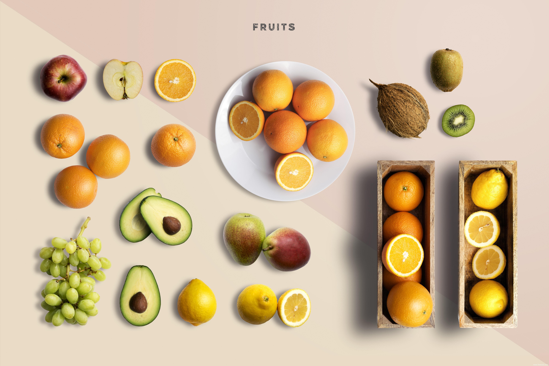 餐饮-水果素材psd源文件下载
