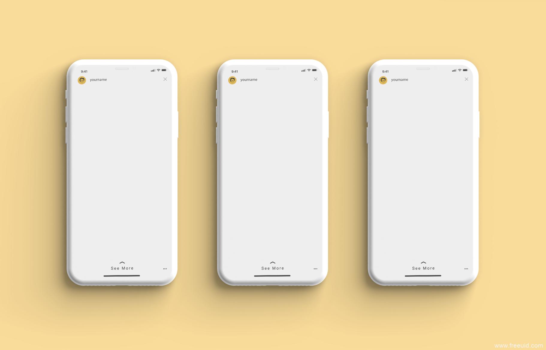 iPhone X 高端样机模板psd源文件下载