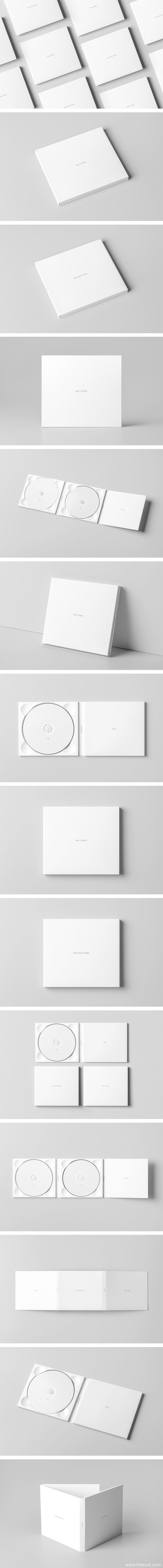 全套系高端逼真光盘CD展示样机模板psd源文件下载(内含多种背景)