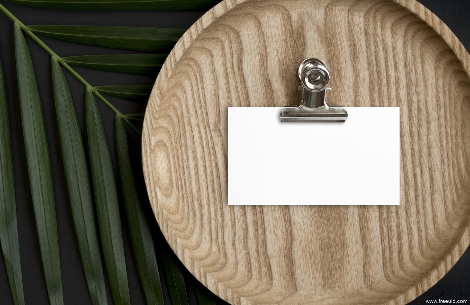 高端名片、卡片样机展示模板psd源文件下载