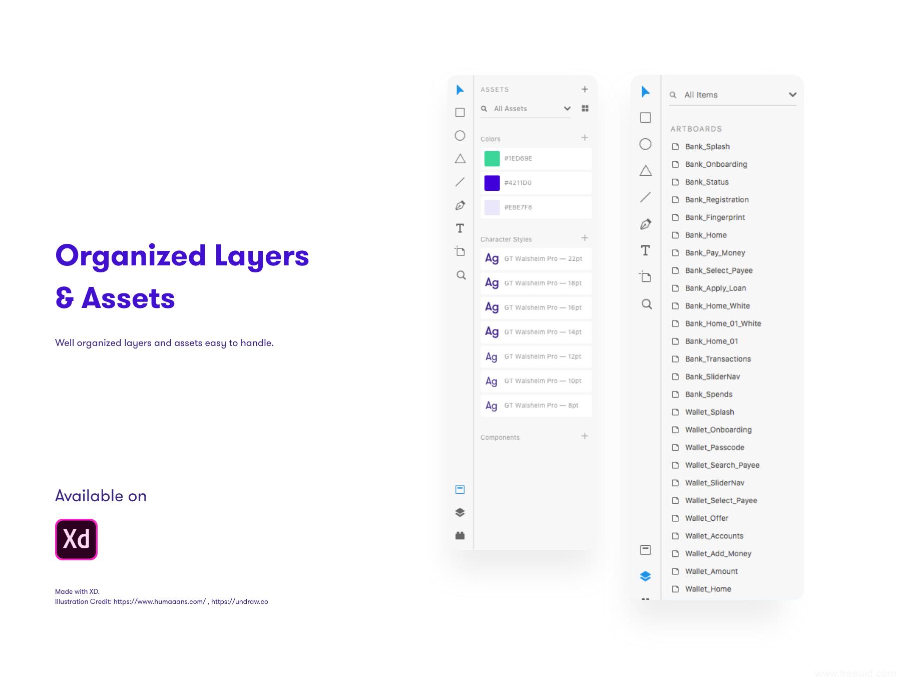一套轻量金融app UI源文件下载,财务app UI资源下载,金融财务应用UI素材下载,银行app UI xd源文件