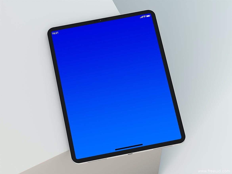 精品iPad样机模板,iPad黑白双色样机mockup模板,psd源文件