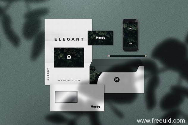 企业品牌VI标示设计包装模板,品牌VI样机mockup psd源文件下载