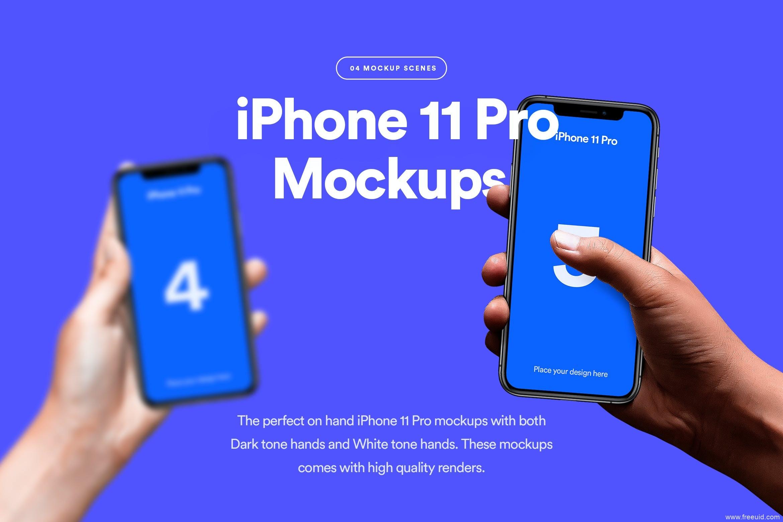iPhone手持样机mockup源文件下载,手持iPhone样机psd源文件