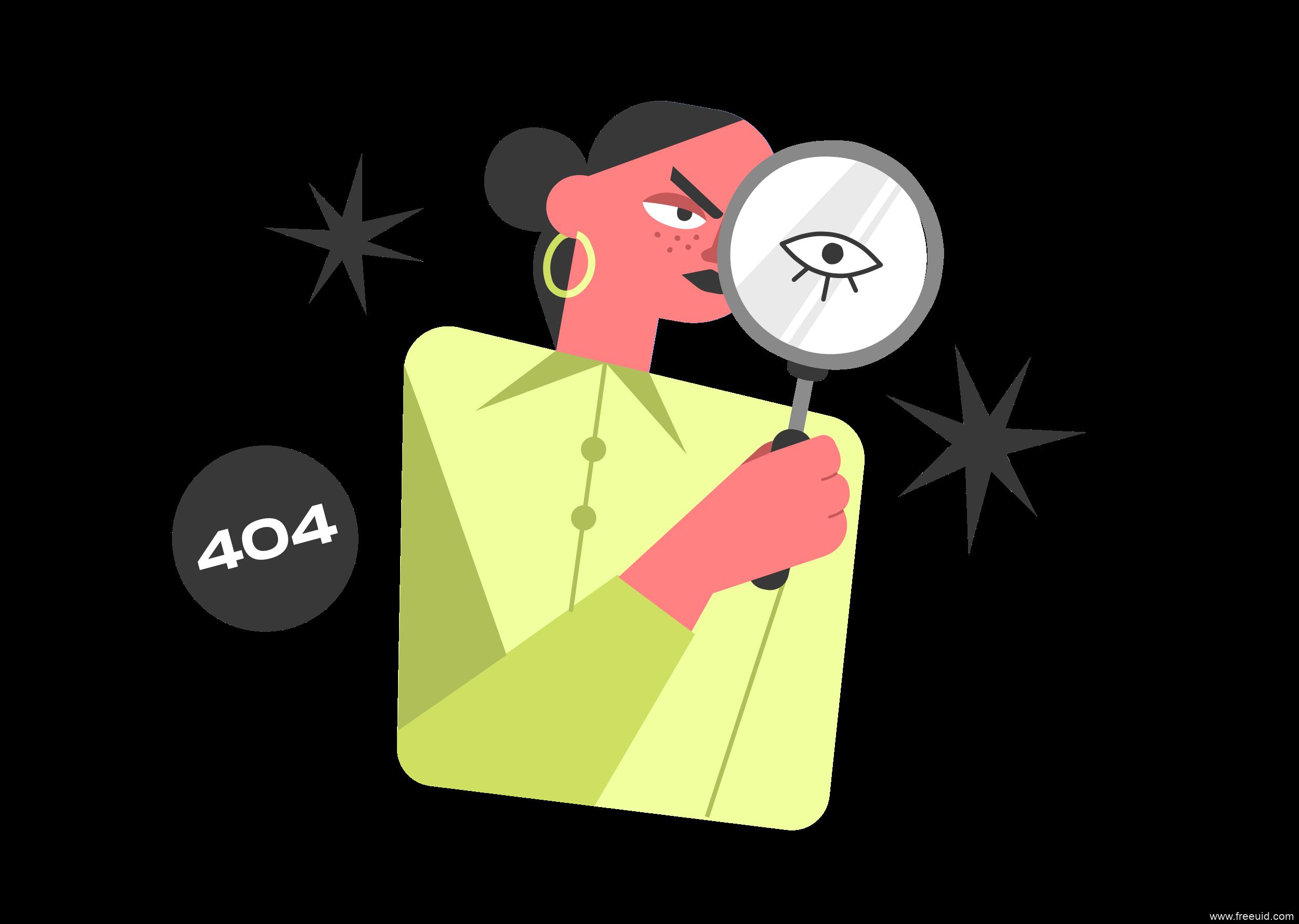 一组很有创意的404空状态插画源文件下载,404插画svg,sketch,fig,png源文件下载