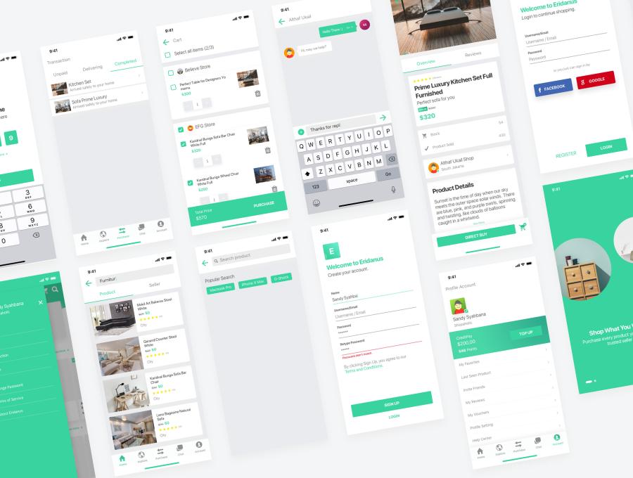 一套房地产app UI资源下载,在线买房卖房app UI源文件下载,买房APP UI素材下载,租房app sketch源文件下载