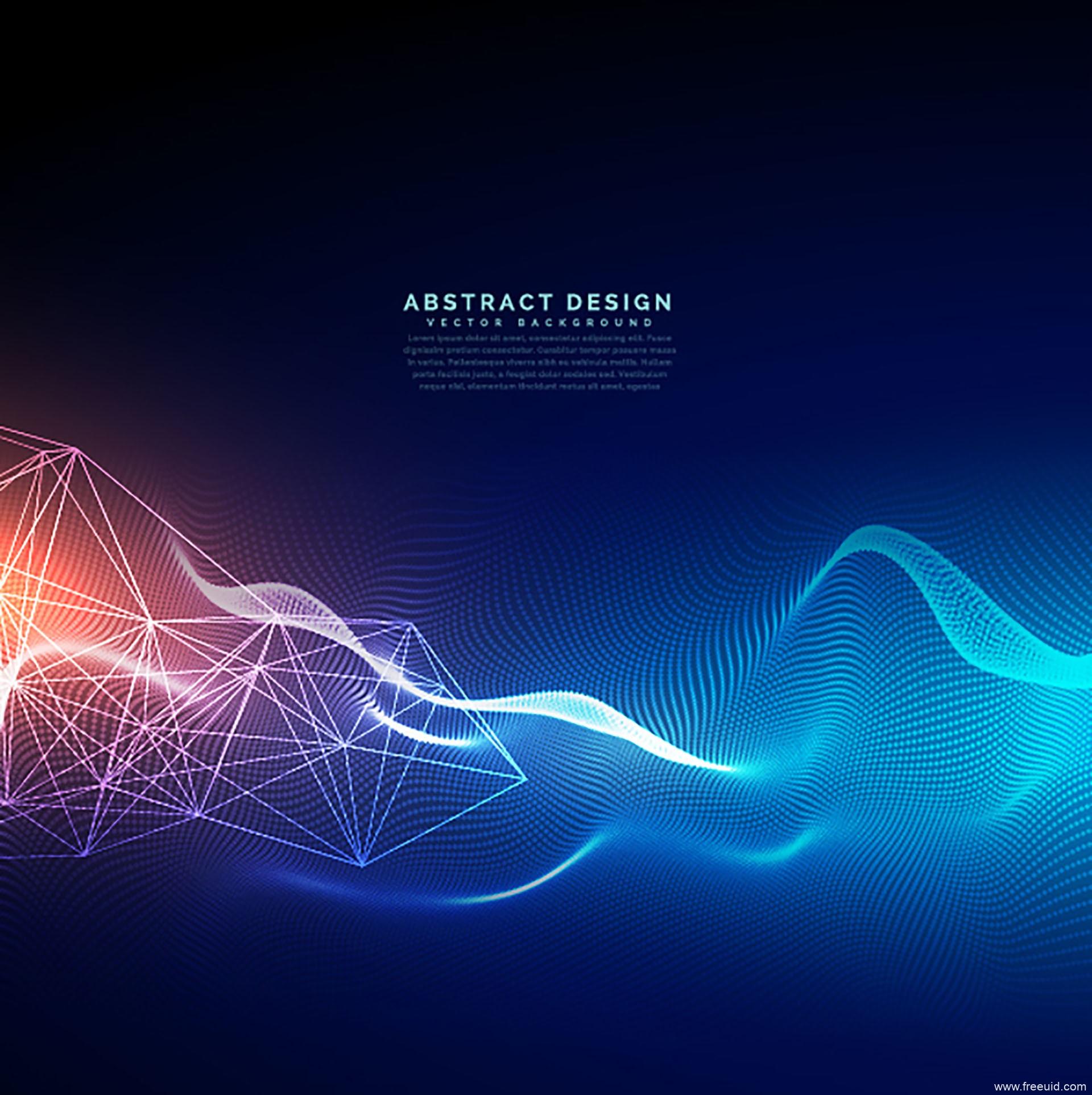 14款高科技现代感的线条背景纹理Ai源文件下载